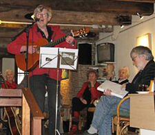 Foto bij verslag19-jarig jubileum De Groene Luiken Vlaardingen - maart 2013