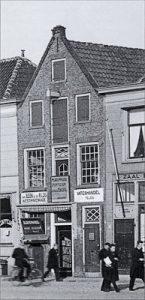 Historisch pand De Groene Luiken in de 30er jaren