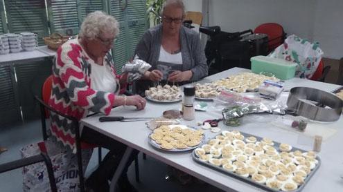 Ook met Pasen 2018 was het een gezellige boel in aanloophuis De Groene Luiken